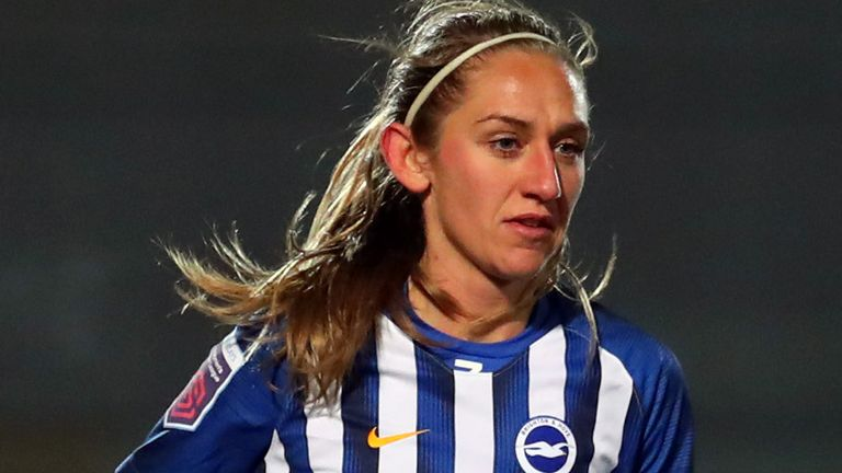 Aileen Whelan scored the only goal of the game to seal a Brighton win