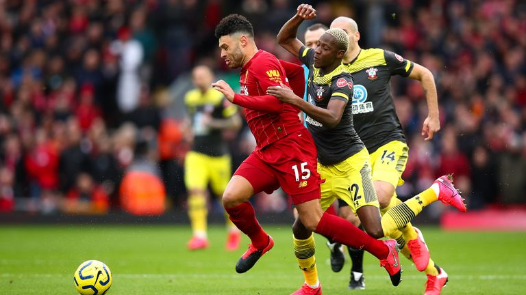 Southampton felt hard done by with a number of refereeing decisions