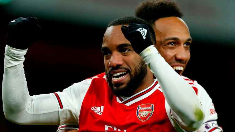 Alexandre Lacazette scored the fourth goal