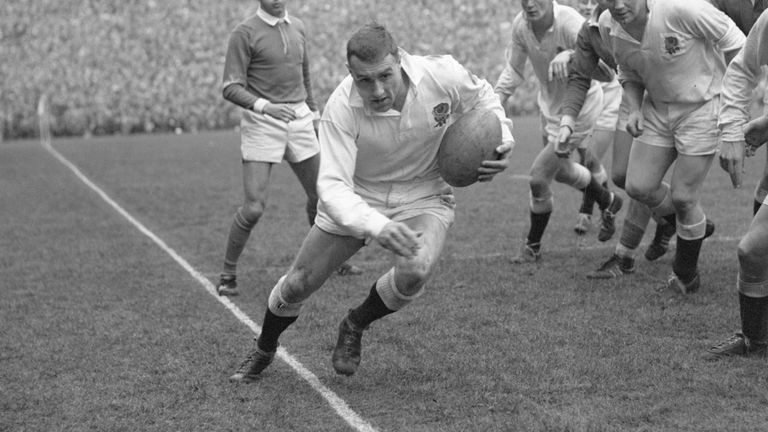 Andrew Hancock, who has died aged 80, won three caps for England