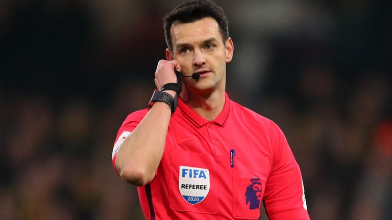 Bobby Madley's brother Andy has been a Premier League referee since 2018