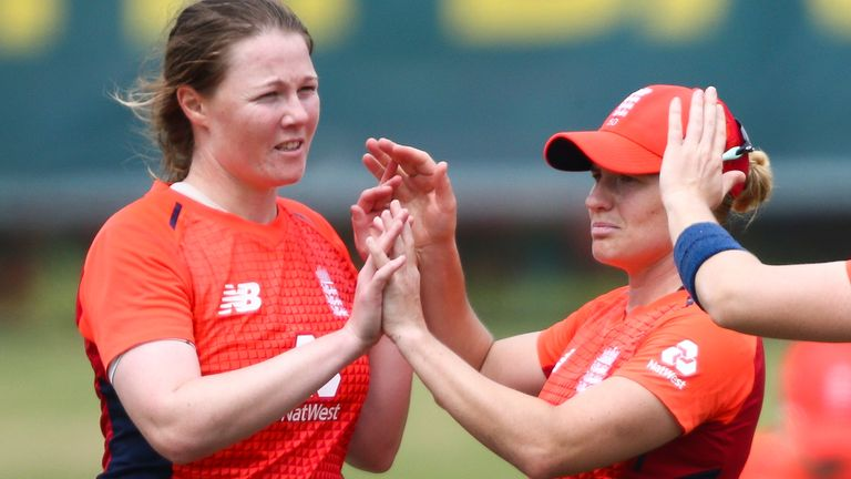 Anya Shrubsole returned to the side as England beat India