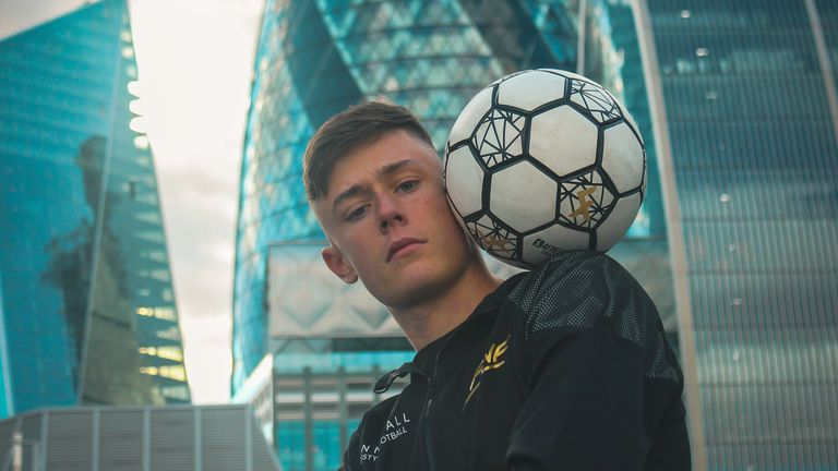 'From the age of 13, I never got back into football. It was all about freestyle.'