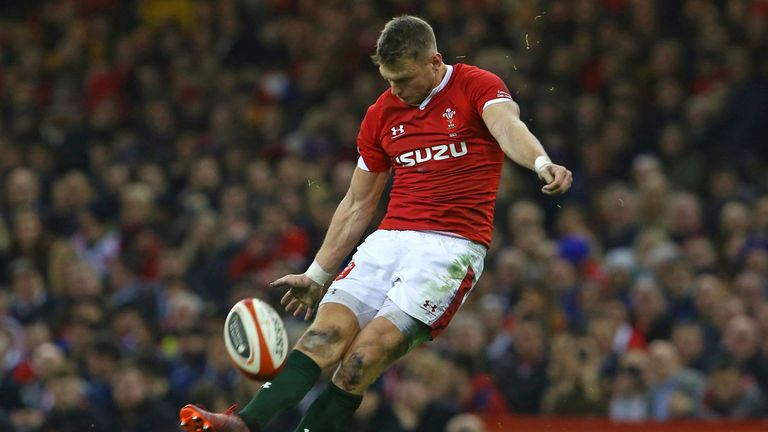 Dan Biggar kicked the opening points of the Test, and kept Wales in touch with the boot