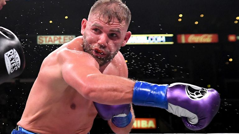 Billy Joe Saunders holds WBO gold