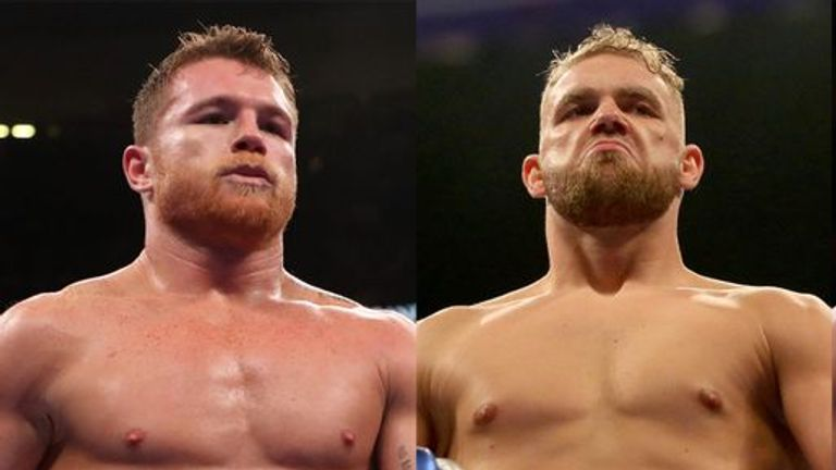 Canelo was expected to announce a fight against Saunders