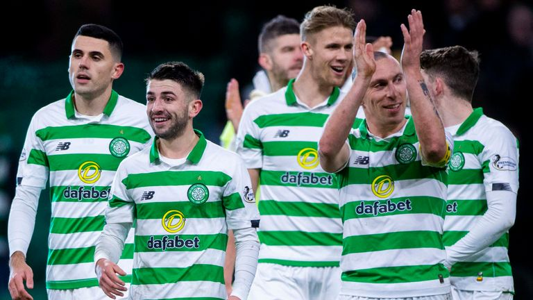 Celtic romped to a 5-0 victory over Hearts on Wednesday night