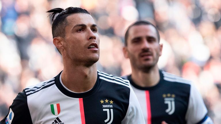 Ronaldo equals Juventus goalscoring record with penalty double