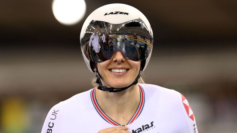 Katy Marchant and her GB team-mate Sophie Capewell have secured places in the women's individual sprint events at Tokyo 2020
