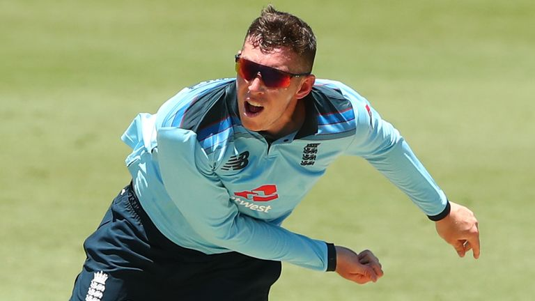 The 22-year-old also bowls useful off-spin