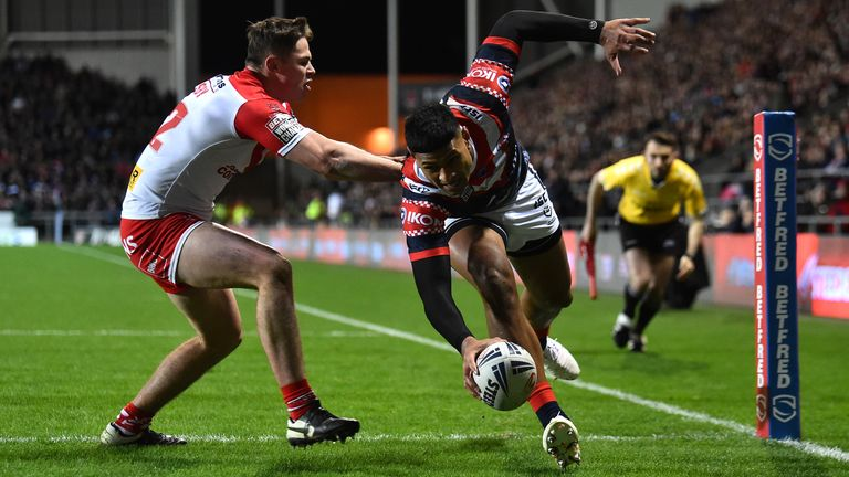 Sydney Roosters got the better of St Helens in the World Club Challenge