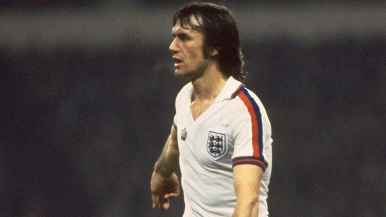 Dave Watson played for England 65 times