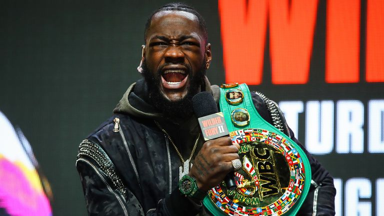 Wilder has traded heated words with Whyte