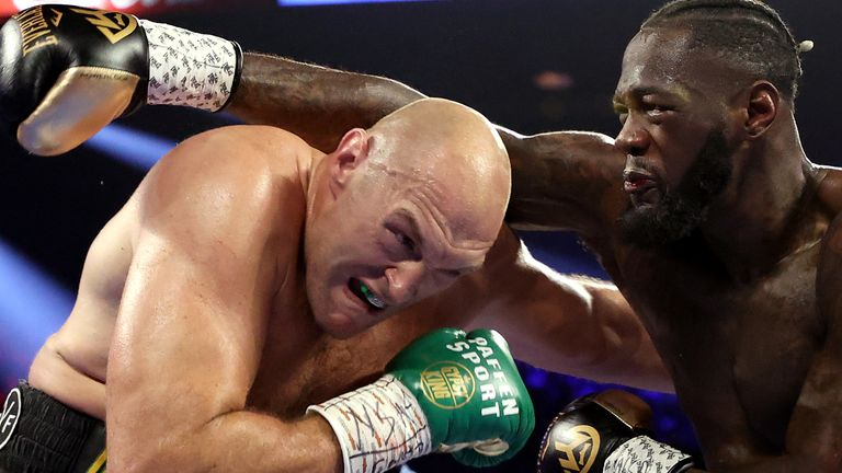 Wilder dropped Fury twice in their first fight