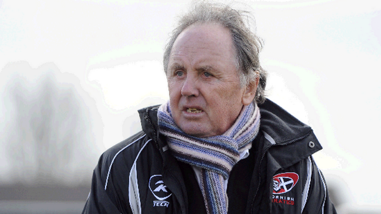 Cornish Pirates owner Dicky Evans has been involved with the club for 25 years