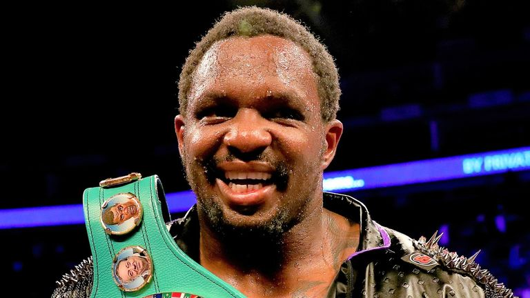 Dillian Whyte has been holding talks for a fight with Alexander Povetkin