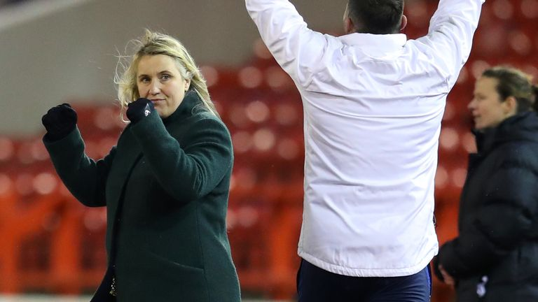 Lianne Sanderson says managers such as Emma Hayes deserve praise for changing the culture of the WSL