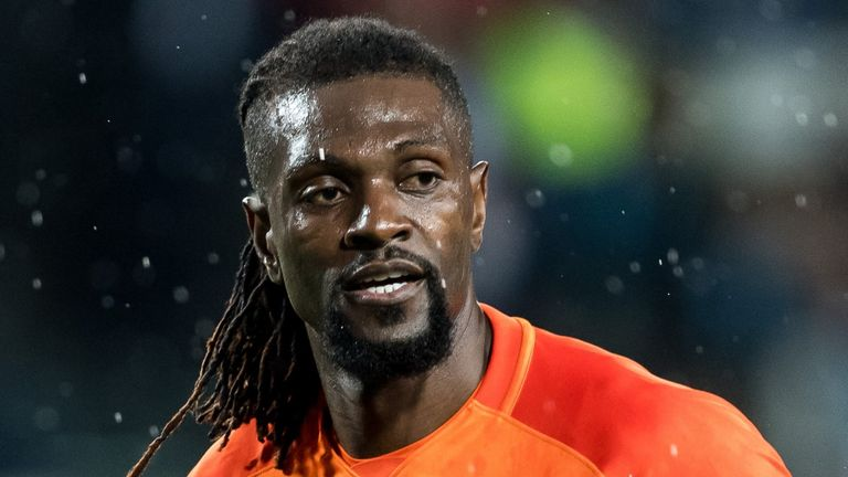 Emmanuel Adebayor had been without a club since December