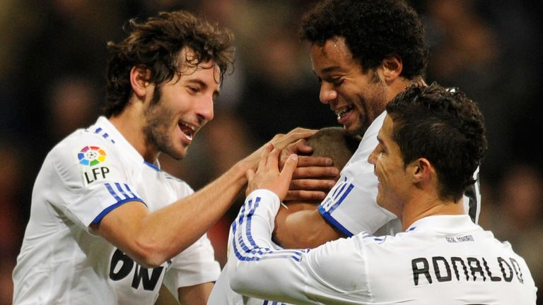 Granero made 96 appearances for Real Madrid, scoring five goals