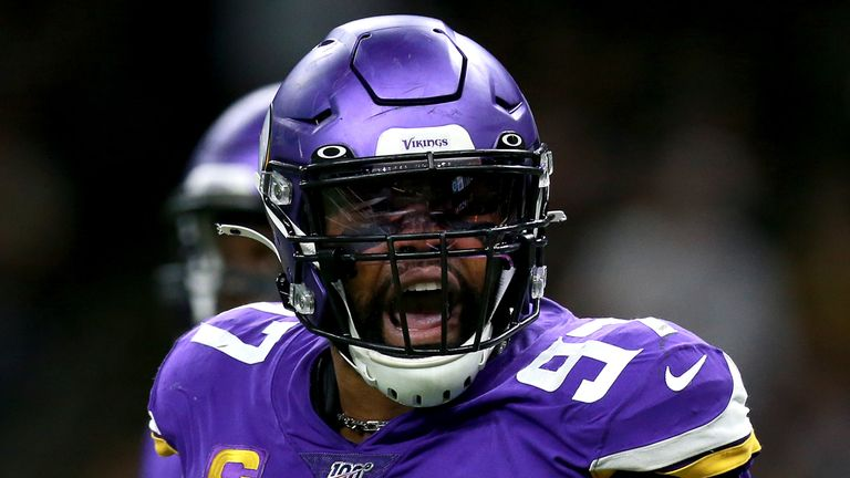 Vikings' Griffen opts out of contract, will become free agent