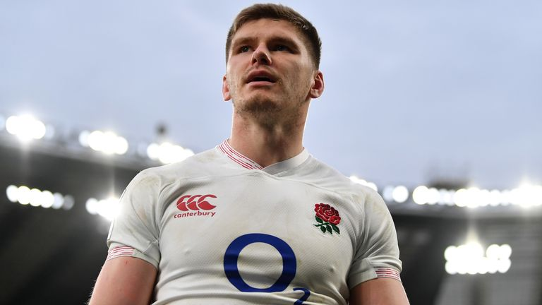 Owen Farrell brings numerous attributes to the loose forward role