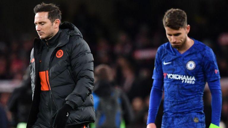 Jorginho has been an unused sub in Chelsea's last three Premier League games