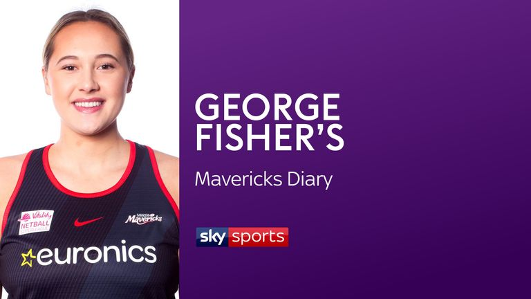George Fisher continues to take us behind the scenes at England and Saracens Mavericks