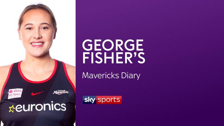 George Fisher of Saracens Mavericks and England Netball