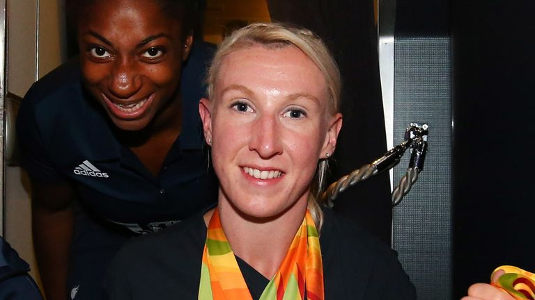 Georgie Hermitage was a triple medallist at the Rio Paralympics in 2016