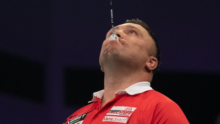 Gerwyn Price was unable to make it through after finishing second and third in his respective groups