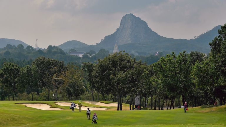 Phoenix Gold Golf & Country Club was due to host the Honda LPGA Thailand event