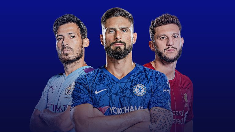 David Silva, Olivier Giroud and Adam Lallana are all out of contract this summer