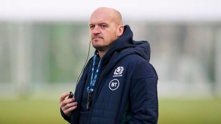 Scotland head coach Gregor Townsend has made three changes for Saturday's Six Nations game with Italy