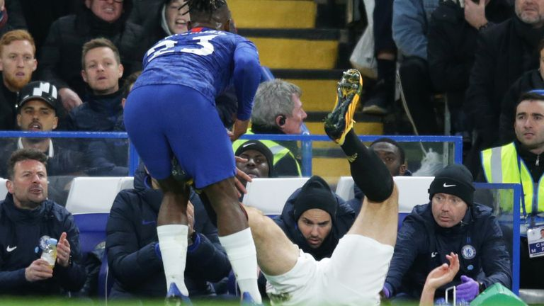Harry Maguire should have punished for his challenge on Michy Batshuayi, says Dermot Gallagher