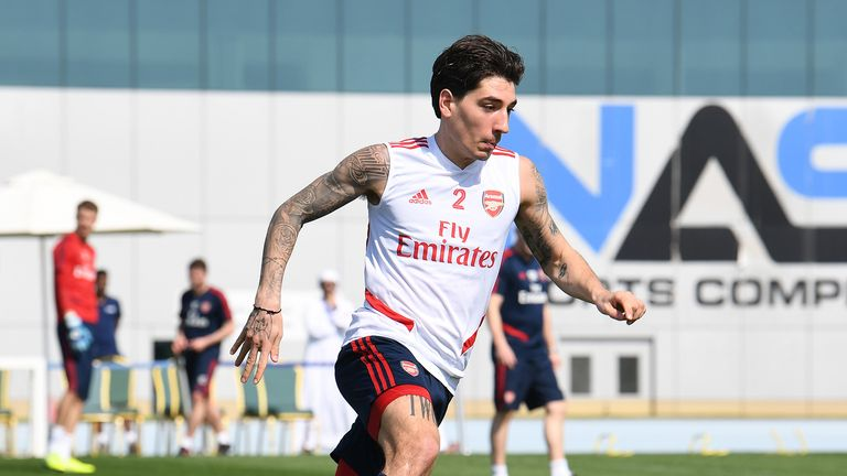 Hector Bellerin is excited by the potential of Arsenal under Arteta