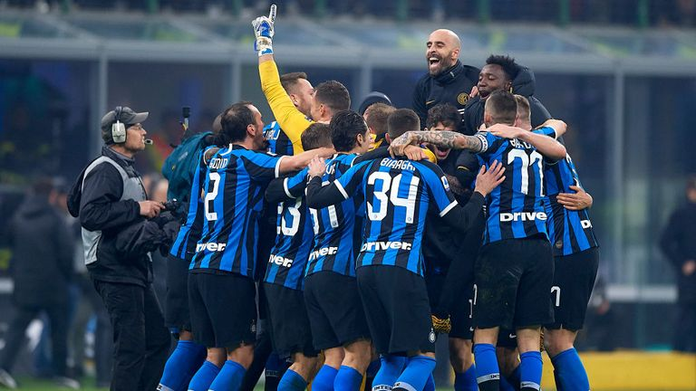 Inter Milan completed a remarkable comeback against their city rivals AC Milan