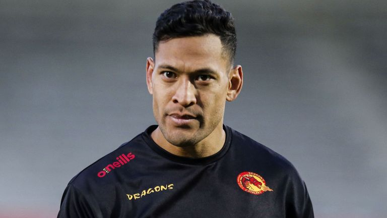 Israel Folau could make his Catalans Dragons debut following his controversial move to Super League