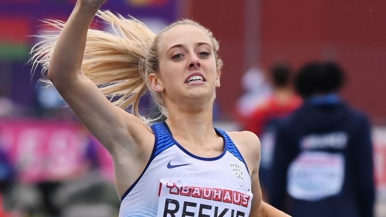 Jemma Reekie has added the British mile record to her 800m record