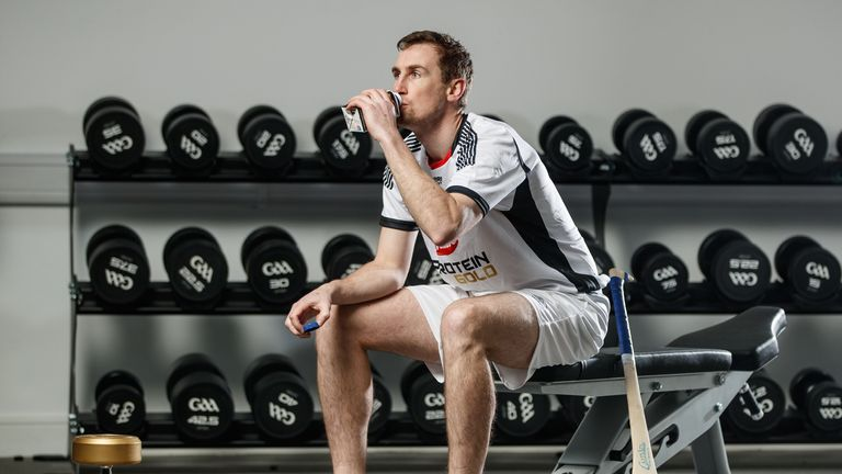 Joey Holden was speaking at the launch Of Avonmore Protein Gold