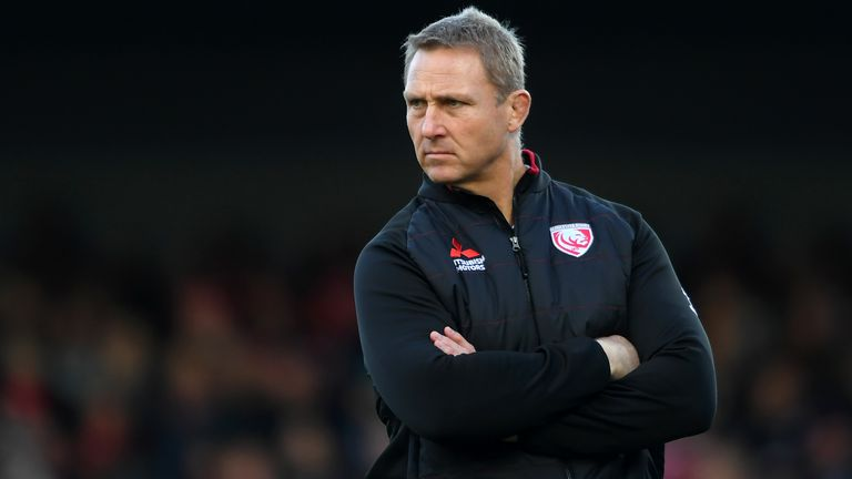 Johan Ackermann was with Gloucester for three years