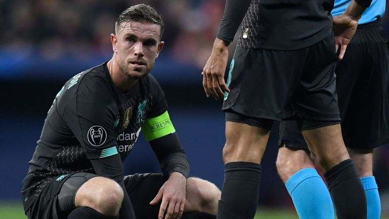 Henderson is in line to return for the Merseyside derby against Everton on March 16, live on Sky Sports Premier League