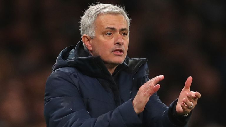 Jose Mourinho is looking forward to the return of the Premier League next month