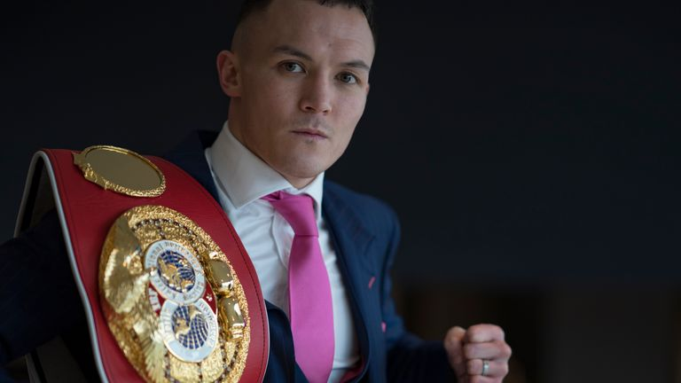 Josh Warrington has rejoined Eddie Hearn's Matchroom Boxing stable