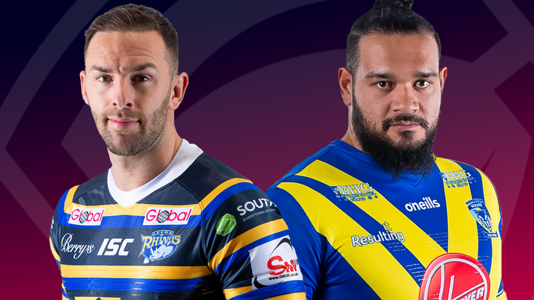 Leeds and Warrington clash in Friday's live Super League game