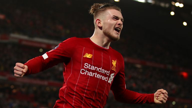 Harvey Elliott is one of a number of promising youngsters at Liverpool