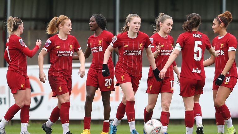Liverpool Women won just one of their 14 matches in the Women's Super League this season