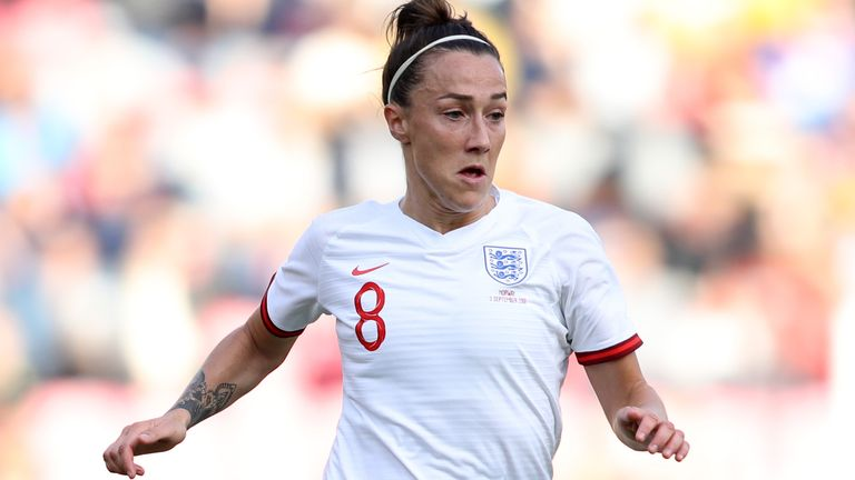 Lucy Bronze will attempt win a third Champions League in a row with Lyon