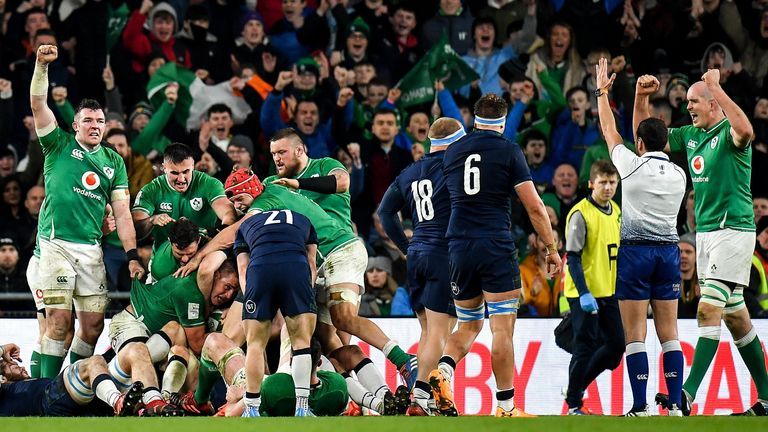 Last-ditch defence bailed Ireland out on a number of occasions