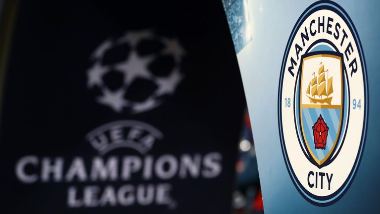 City have been banned from the Champions League for the next two seasons by UEFA