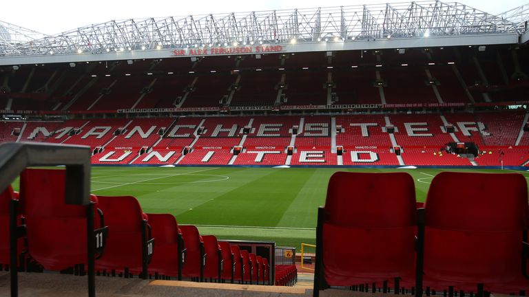 Man United request to install safe standing area